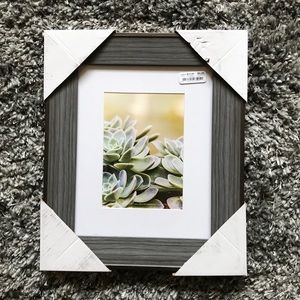 8 by 10 Grey Picture Frame